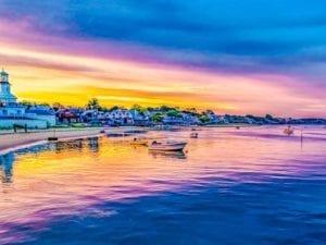 Provincetown Marina Sunset Provincetown MA