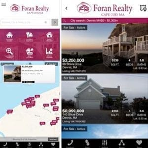 Cape Cod Real Estate App