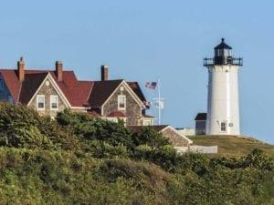 Falmouth MA Cape Cod Nobska Point Light Lighthouse